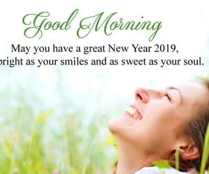 new year morning quotes, happy new year morning, and good morning 2019 quotes image