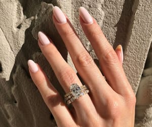 Image de diamond ring and love
