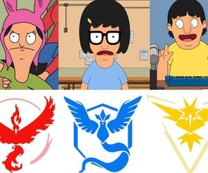 cartoon, bob's burgers, and team instinct image