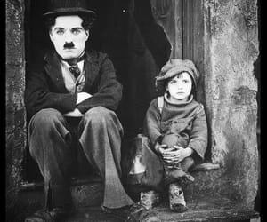 blackwhite and charlie chaplin image
