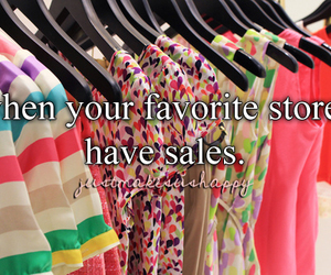 clothes, favorite, and sales image