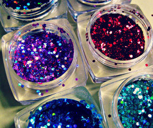glitter, sparkle, and blue image