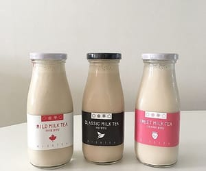 milk, aesthetic, and drink image