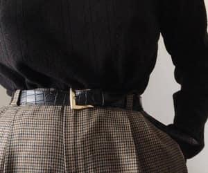 belt, black, and fashion image