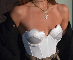 accessoires, corset, and style image