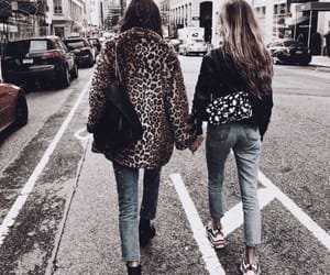 fashion, friends, and girl image