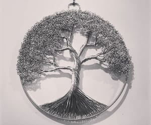 pendant, tree of life, and wire art image