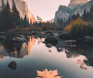 nature, autumn, and mountains image