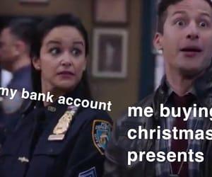Bank, christmas, and funny image