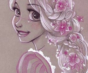 rapunzel, disney, and princess image