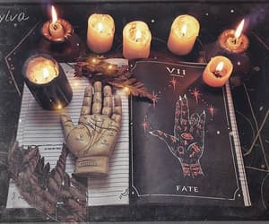 candles, magic, and spell image