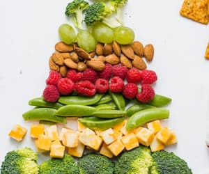 christmas, food, and veggies image