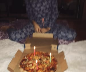 bff, birthday, and pizza image