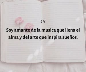 art, frases, and music image