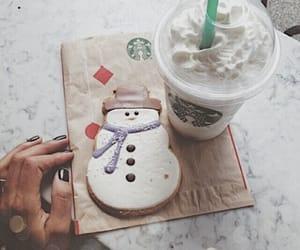 starbucks, winter, and christmas image