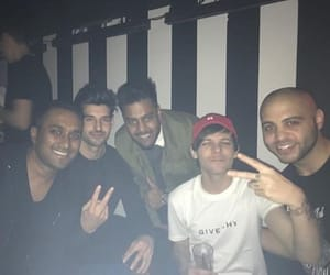 birthday party, louis tomlinson, and family image