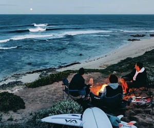 summer, surf, and travel image
