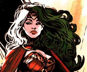 comic and wonder woman image