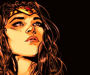 comic, wonder woman, and diana of themyscira image