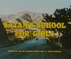 satan, grunge, and school image