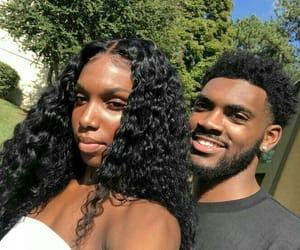 couples, black love, and melanin image