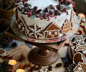 holiday, cake, and Cookies image