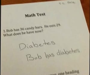answer, funny, and math image