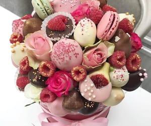 cherry, FRUiTS, and macarons image