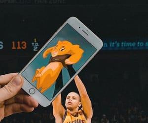 Basketball and lion king image