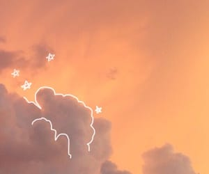 sky, beautiful, and clouds image