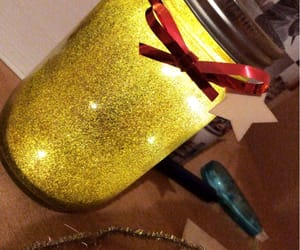 bottle, christmas, and diy image