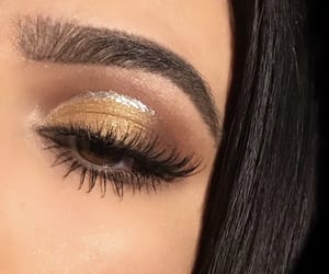 beauty, lux, and make-up image