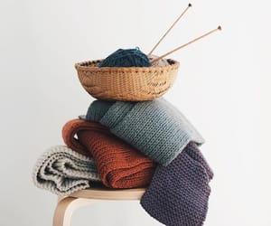 aesthetic, knitting, and minimalism image