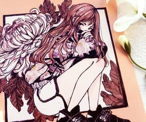 anime, anime girl, and crisalys image