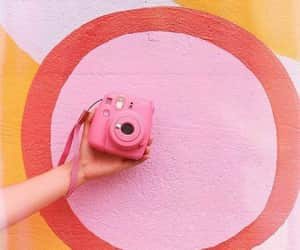 fujifilm, polaroid, and color pink image
