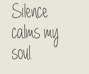 quotes, silence, and soul image