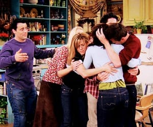 chandler bing, friendship, and joey tribbiani image