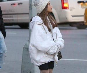 boots, winter, and ariana grande image