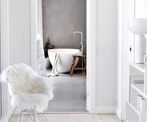 interior, bathroom, and decor image