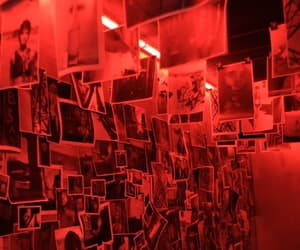 red, aesthetic, and grunge image