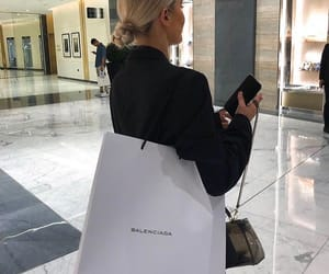 shopping, Balenciaga, and fashion image
