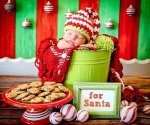 baby, christmas, and infancia image