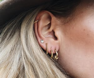 accesories, design, and earrings image