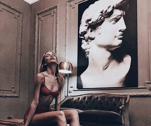 art, lingerie, and artist image