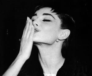 audrey hepburn, kiss, and vintage image