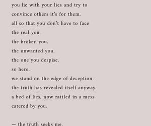 broken, real, and truth image