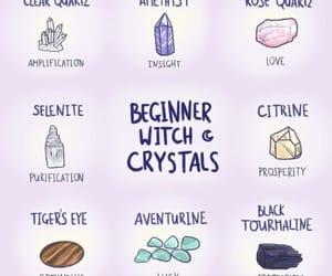 beginner, crystals, and healing image