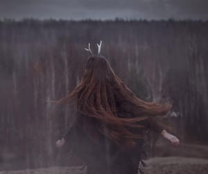 girl and long hair image