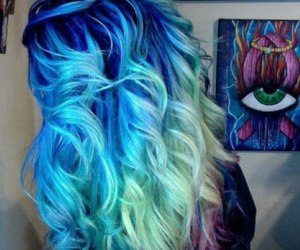 awesome, dip dye, and ombre image