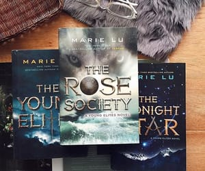 books, marie lu, and the young elites image